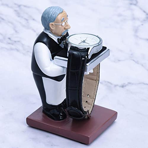 Baoblaze Soporte de Exhibici/ón de Relojes Figura de Ama de Llaves Decoraci/ón para Hogar