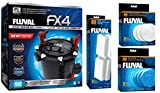 Fluval FX-4 or FX-6 Aquarium Canister Filter Package (FX-4 Filter Package)