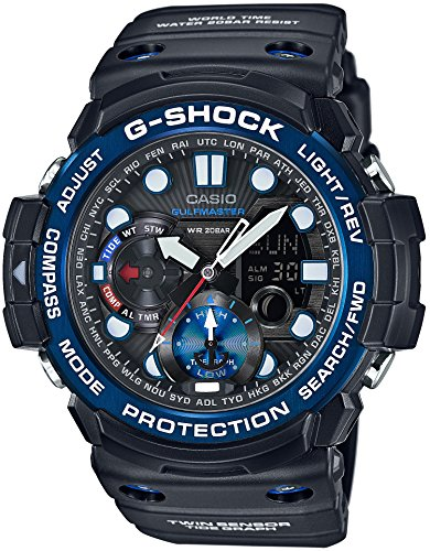 CASIO Watch G-SHOCK GULFMASTER GN-1000B-1AJF (Tide 20 Sport Watch)