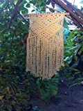 Macrame Wall Hanging, Macrame Curtains, Macrame Art, Tapestry Wall Hanging, Bohemian House, Bohemian Decor, Bohemain Tapestry, Boho Tapestry, Boho Wall Tapestry, - Socially Positive! (With Bar)