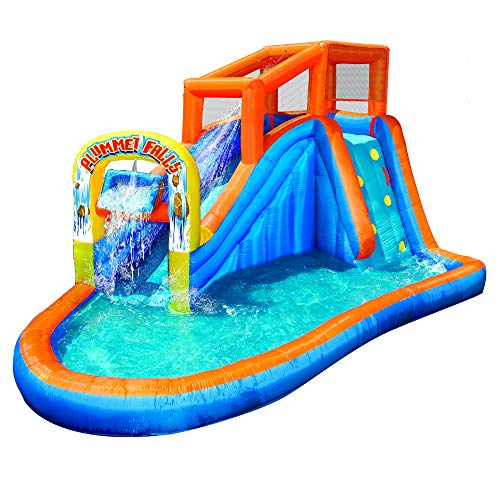 BANZAI Plummet Falls Adventure Slide, Multicolor - Falls Water Slide