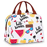 CXWMZY Lunch Bag Cooler Bag for Women Tote Bag Insulated Lunch Box Water-resistant
