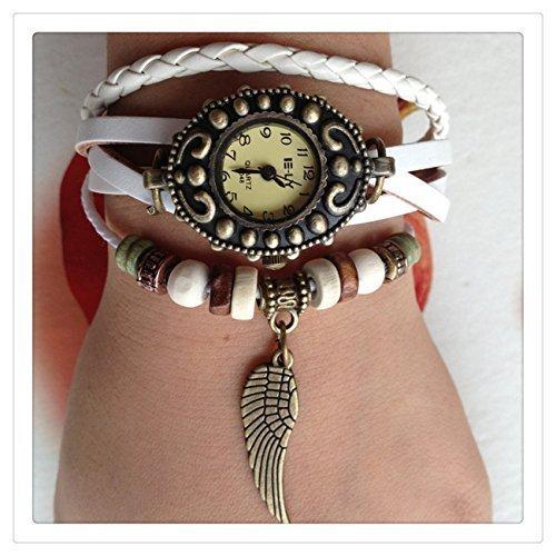 nueva precios más bajos nuevo estilo y lujo famosa marca de diseñador Wrap reloj, pulsera hoja ala reloj, reloj de pulsera ...