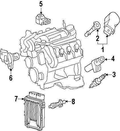 coil mercedes benz c300 - 6