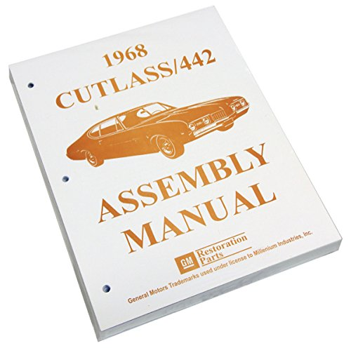 Inline Tube (I-3-5) Factory Assembly Manual for 1968 Oldsmobile Cutlass / 442