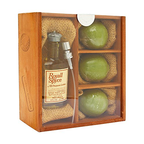 Royall Spyce by Royall Fragrances for Men 4 Piece Set Includ