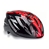 Rollerblade Junior Workout Helmet, Kids, Black and Red, Medium
