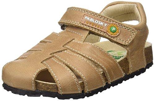 Pablosky Fermé Marron Garçon 584876 Sandales Marrón Bout 584876 arwxqva