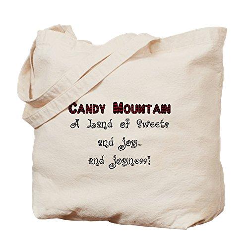 CafePress - Candy Mountain - Natural Canvas Tote Bag, Cloth Shopping Bag
