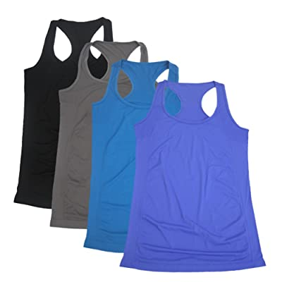 Semath Women's Workout Tank Top, Sports Racerback Yoga Clothes Running Camisole