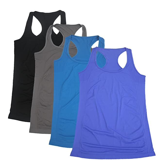 05766f750dba4 Semath Women's Workout Tank Top, Sports Racerback Yoga Clothes Running  Camisole