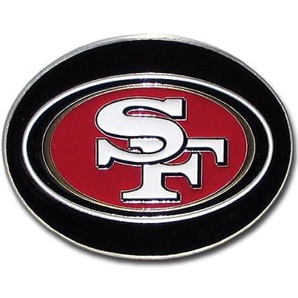 36ff28d7 NFL San Francisco 49ers Logo Buckle