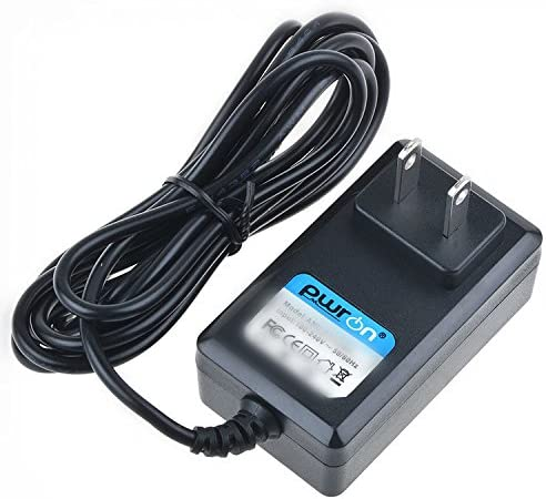 6.6FT Cable AC to DC Adapter for Panasonic K2GHYYS00002 DC Cable Fit HC-V250 HC-V250K HC-V250R HC-V250S HC-V770 HC-VX870 HC-WX970 Camcorders Power Supply Cord PwrON