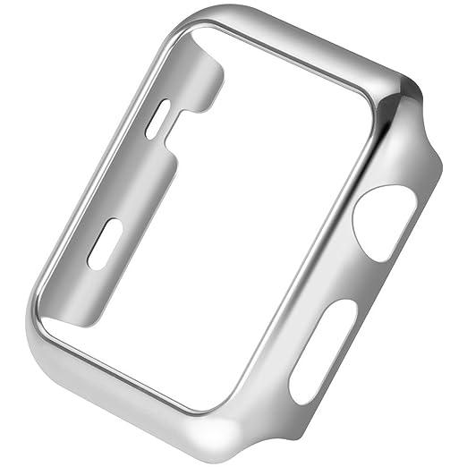 28 opinioni per Apple Watch Custodia HOCO Pinhen iWatch Plated Metal Bumper Protettivo Case