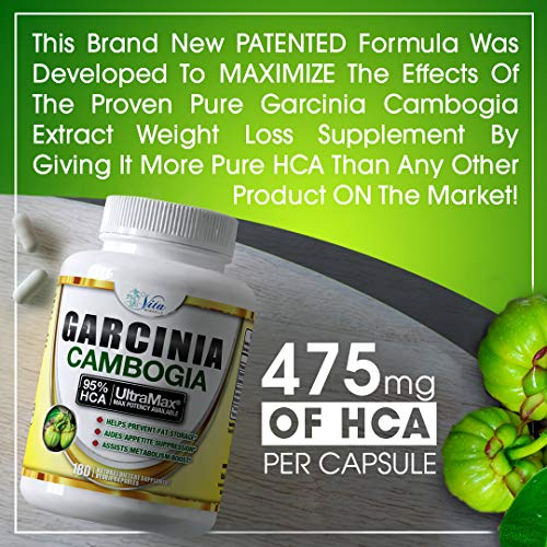 Pure Garcinia Cambogia 95% HCA - Extract Slim Maximum Strength Formula to Reduce Appetite & Lose Weight Faster Than Ever Plus Garcinia Cambogia Weight Loss E-Book (180 Count (2 Pack)) by Island's Miracle (Image #7)