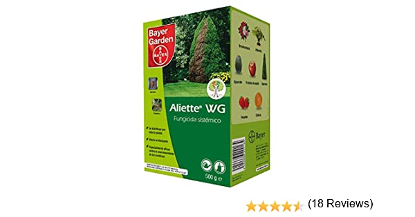 PROTECT GARDEN Fungicida sistémico Aliette WG para cesped y ...