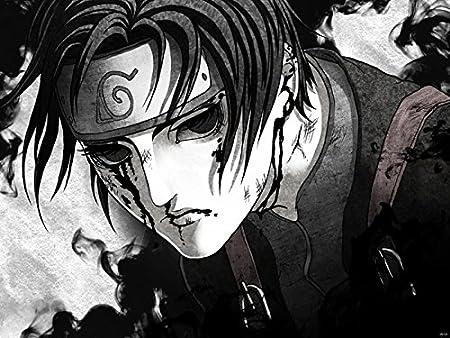 DV6133 Naruto Sai Ninja Manga Art Carcasa de personajes de ...