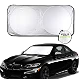 Car Sun Shade Foldable Windshield Visor Sun Shade Inside Use UV Rays Protection (59.1