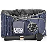 Decompression Back Belt with Cordless Infrared Heating Pad & Rechargeable Battery, Back Support & Lumbar Traction Device for Lower Back Pain Relief (29-49 inch Waists)