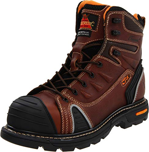"Thorogood Men's GEN-flex2 Series - 6"" Cap Toe, Composite Safety Toe Boot"