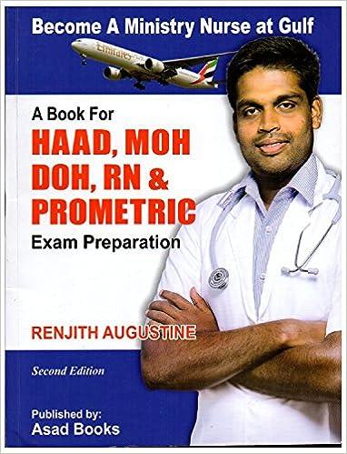 Buy HAAD MOH DOH RN Prometric Exam Preparation Book