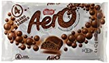 AERO Milk Chocolate Bar, 4 x 42 g (Pack of 4 bars)