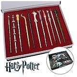 11PCS Harry Hermione Dumbledore Sirius Voldemort Fleur Magic Wand In Box