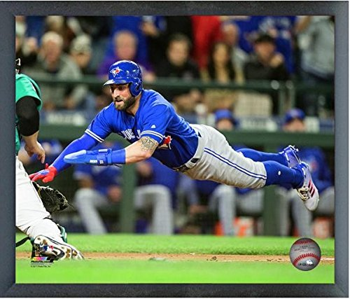 Pillars Framed Poster (Kevin Pillar Toronto Blue Jays Action Photo (Size: 12