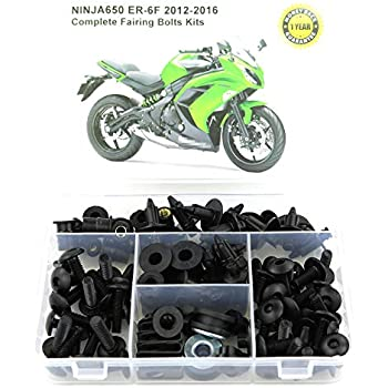 Amazon.com: Complete Alloy Motorcycle Body Fairing Bolt Kit ...