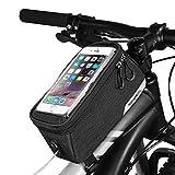 Cillbi Cycling Bike Bicycle Top Tube Bag Frame Bag Pannier Pack Pouch, 1L Capacity