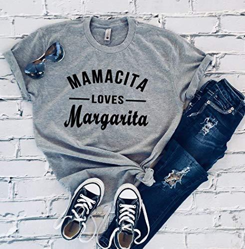 Mamacita Loves Margarita Unisex Womens T-shirt ()