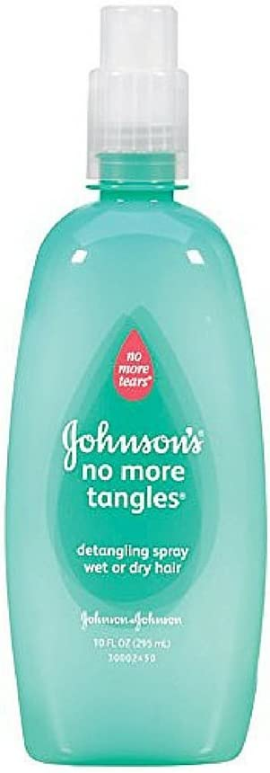 Johnsons & Johnson No More Tangles Spray Detangler, 10 Fl Oz (Pack of 3): Health & Personal Care