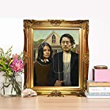 In With The Old Steven Yeun & Lauren Cohan- Limited Poster Artwork - Professional Wall Art Merchandise - TV Show, Actor, Actress