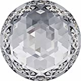 2072 Swarovski Flatback Crystals Non Hotfix Rose Cut | Crystal | 12mm - Pack of 72 (Wholesale) | Small & Wholesale Packs | Free Delivery