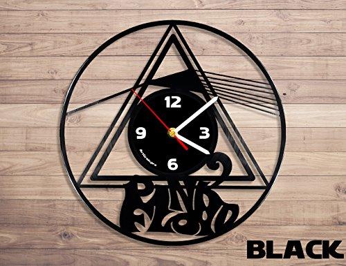 Pink Floyd vinyl record wall clock