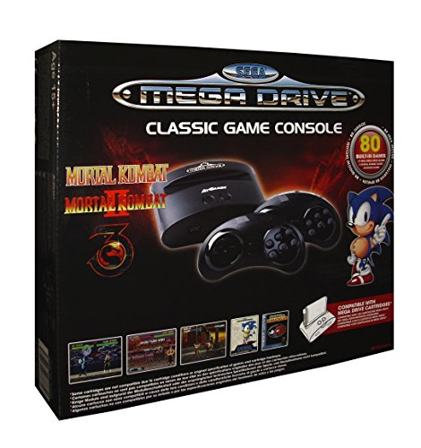 Import – Consola Retro Sega Mega Drive Wireless Ed Mortal Kombat (80)