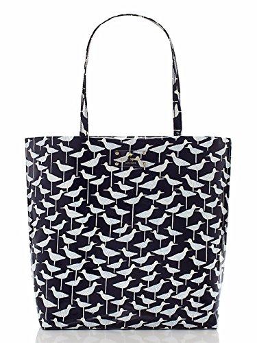 Kate Spade Daycation Bon Shopper Tote Bag Handbag Purse Sandpiper, colore: blu Navy