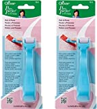 Clover 7812 Roll & Press, Light Blue (2 Pack)