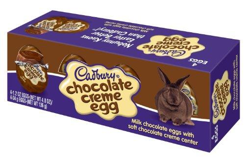 Cadbury Easter Chocolate Creme 4 Count