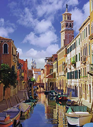 Ravensburger in Venice - Puzzle 500 Piece Jigsaw Puzzle for Adults - Every Piece is Unique, Softclick Technology Means Pieces Fit Together Perfectly