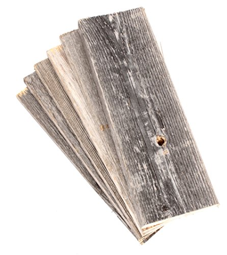 BarnwoodUSA | 100% Reclaimed Wood Bundle for DIY Projects | Pack of 6 (12 inch Planks)