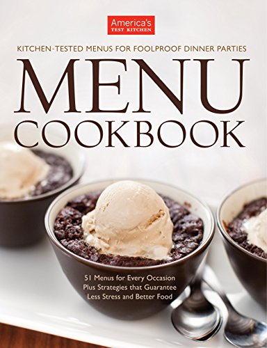 Menu Cookbook: Your Guide to Hosting Stress-Free Dinner Parties and Holiday Feasts