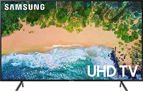 Samsung UN55NU710DFXZA 55″ 4K UHD Smart LED TV (Certified Refurbished)