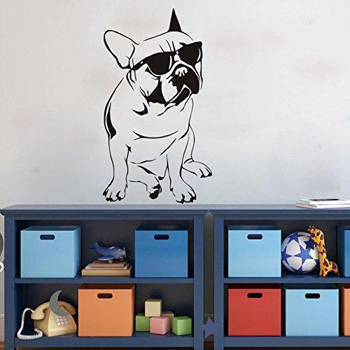 ZRDMN Home Decor Wallpaper Sunglasses Dog Wall Stickers Home Decor Wallpaper Living Room Room Suitable, - India Sunglasses Wallpapers