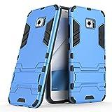 Asus ZenFone V V520KL Case [NOT For ZenFone V Live V500KL], Asus ZenFone 4V V520KL Case,Telegaming Shock Absorption Armor Case Dual Layer Kickstand Drop Protection Cover For Asus ZenFone V V520KL Blue