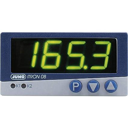 Jumo iTRON 08 Q PID - Regulador de temperatura (Pt100, Pt1000 ...