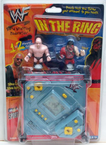 WWF In the Ring Electronic Handheld Wrestling Game w/ Stone Cold Steve Austin Vs. Kane