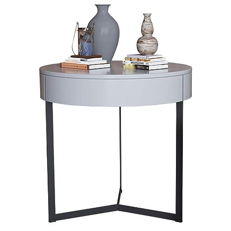 Amazon.com: Mesa de centro mesa auxiliar área de asiento ...