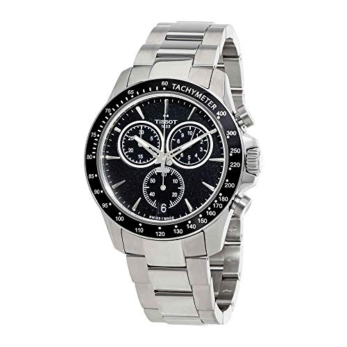 Tissot V8 T106.417.11.051.00 Black/Silver Stainless Steel Analog Quartz Men's Watch