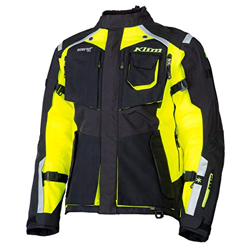 Mens Gore Tex Motorcycle Jacket - Klim 2017 Redesigned Badlands Motorcycle Jacket 2X Hi-Vis